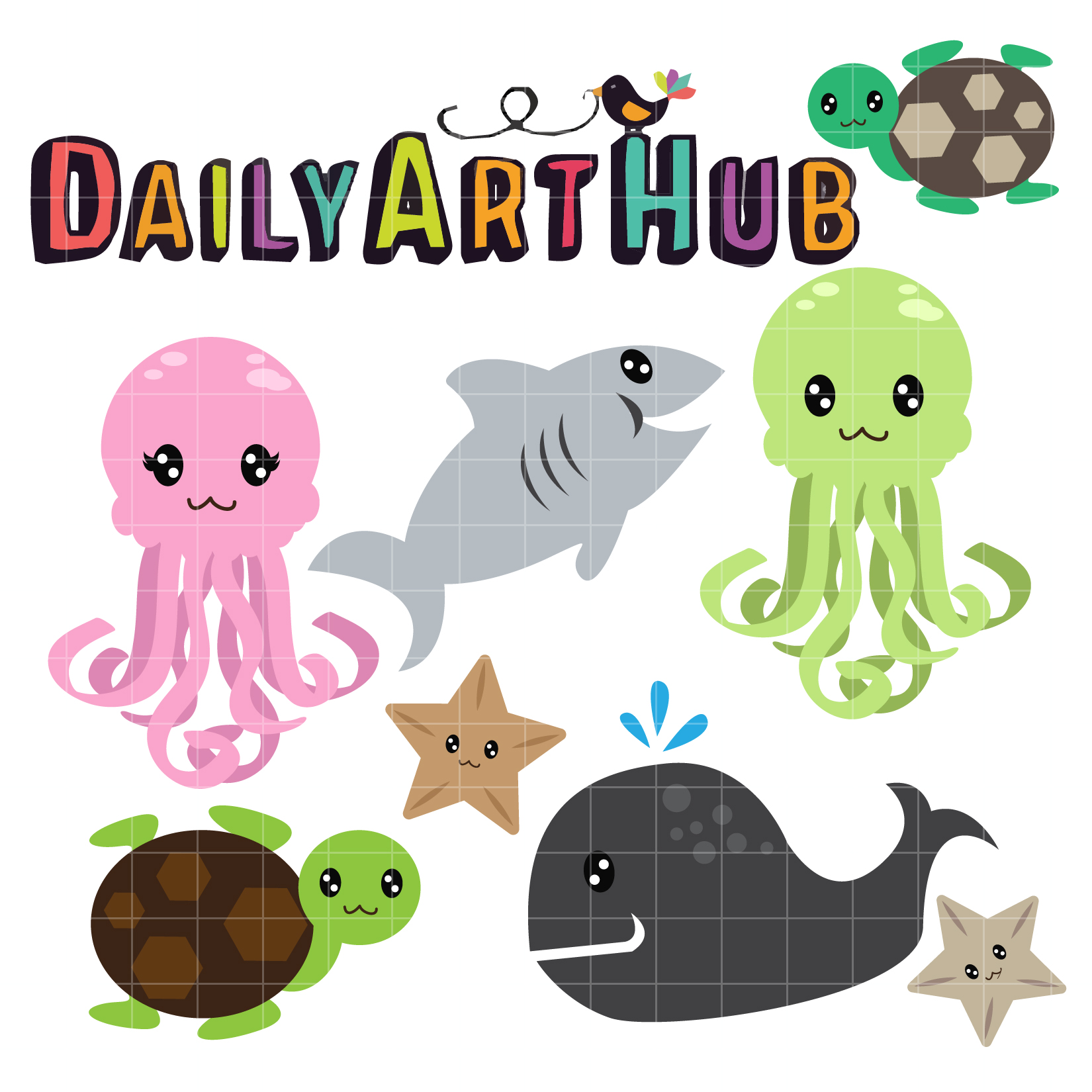 Sea clipart objects #12