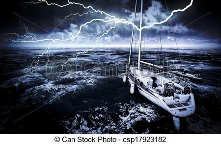Sea clipart rough sea #6