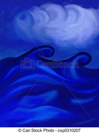 Sea clipart rough sea #5