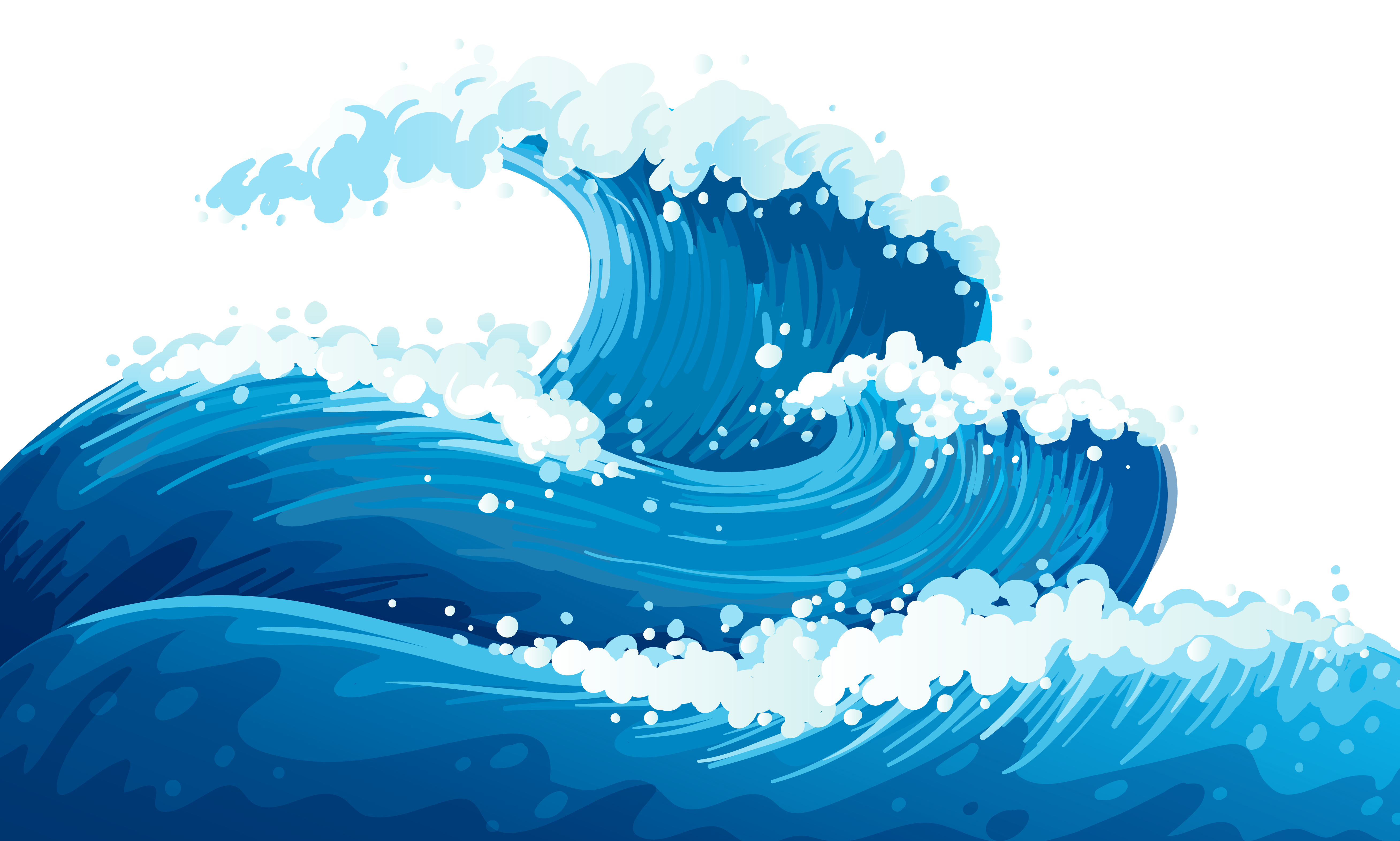 Sea clipart rough sea #7