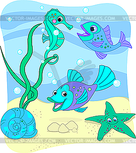 Sea clipart sea world #10
