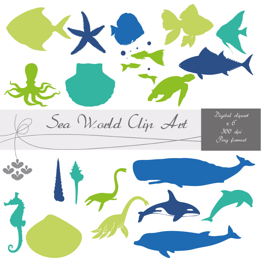Sea clipart sea world #13