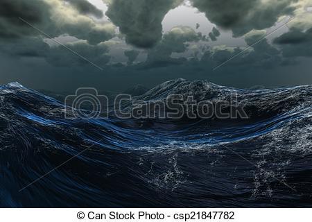Sea clipart stormy sea #7