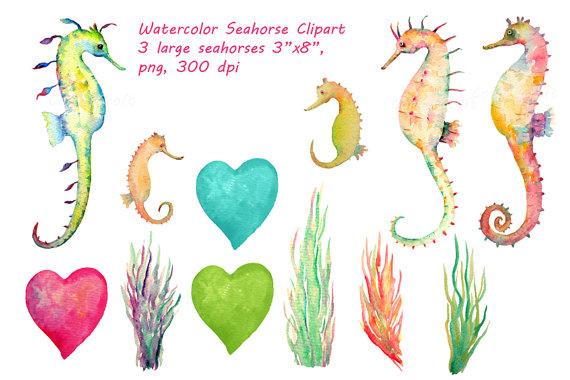 Sea Grass clipart colorful #2