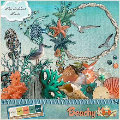 Sea Grass clipart colorful #8