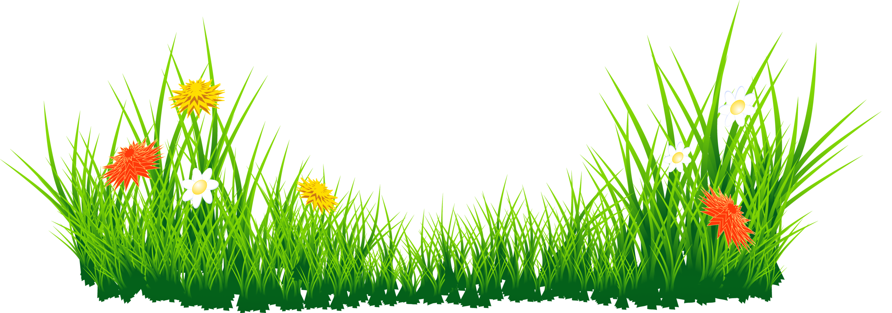Sea Grass clipart grass border #8