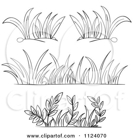 Sea Grass clipart grass border #13