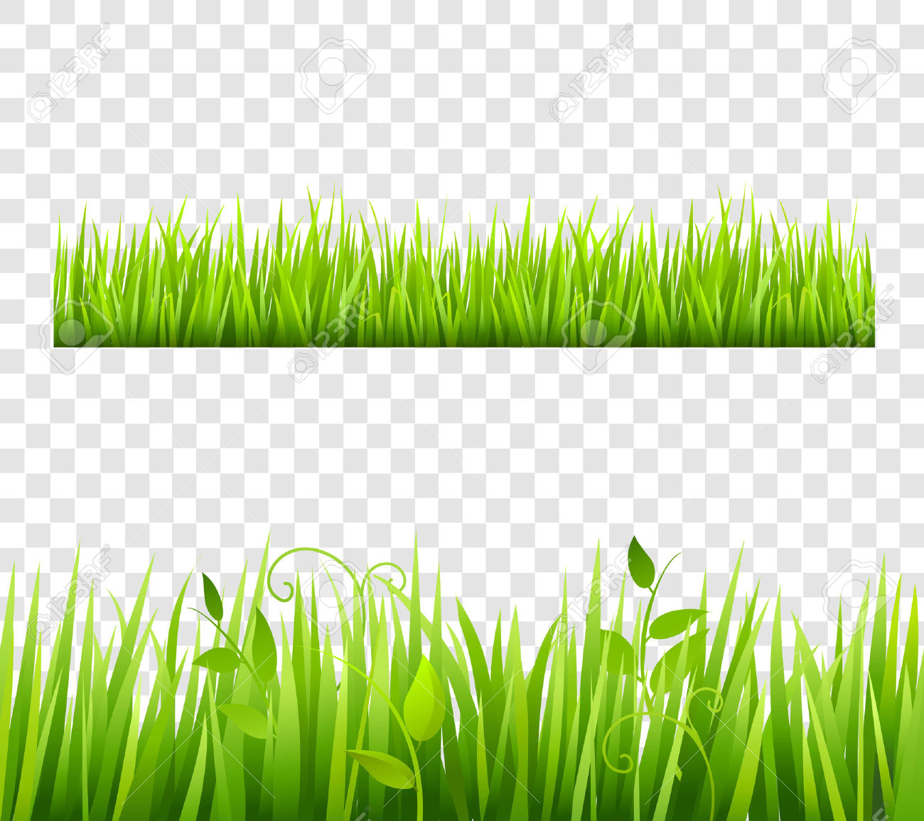 Sea Grass clipart grass border #10