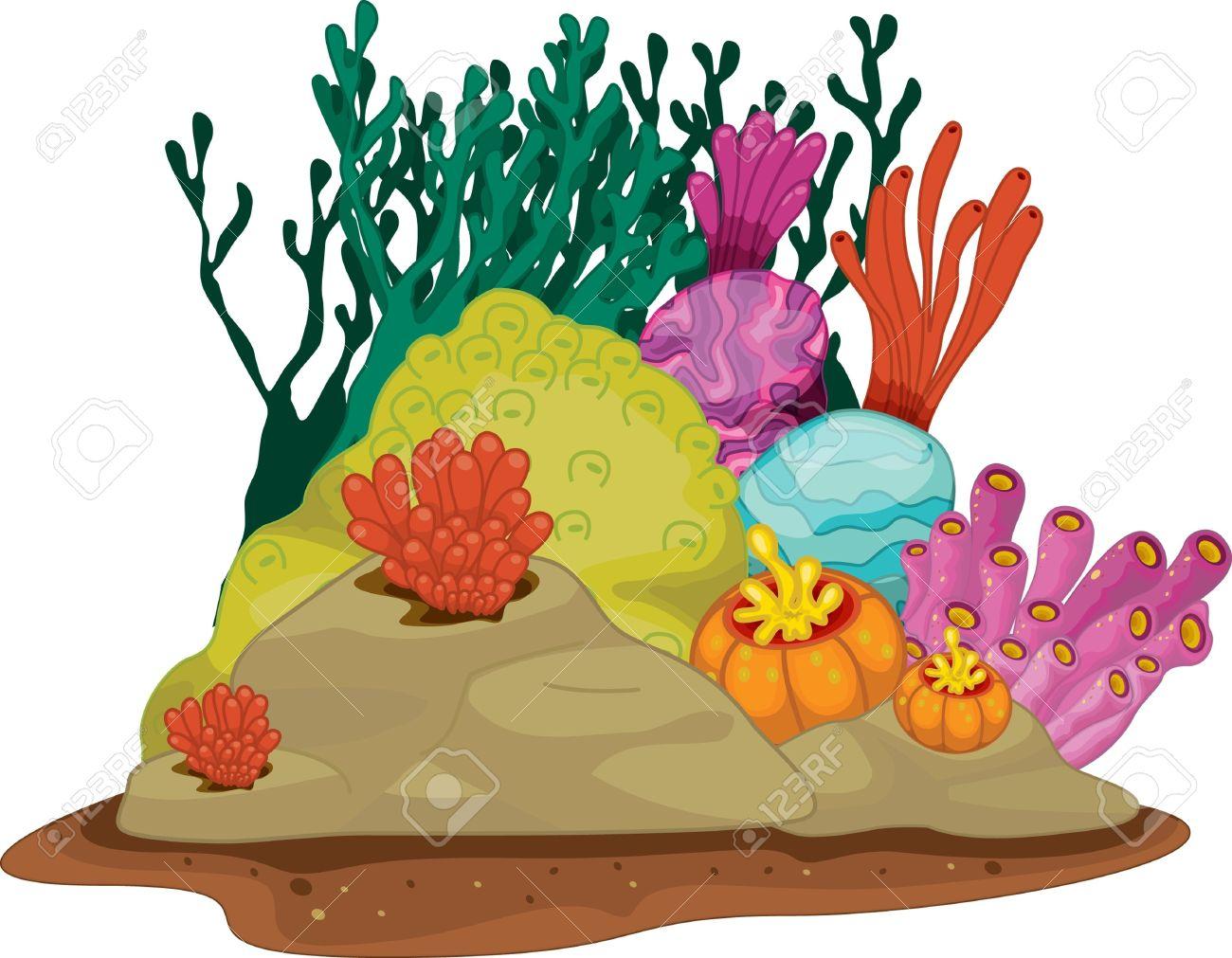 Plant clipart sea plant Plants Underwater Clipart ocean Zone