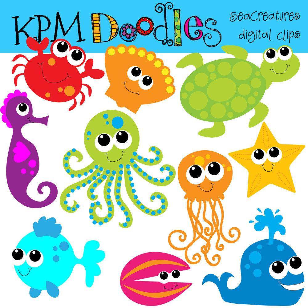 Sea Life clipart Collection of sea KPM Sea