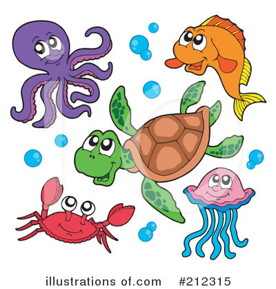 Sea Life clipart Sea #212315 by Royalty (RF)