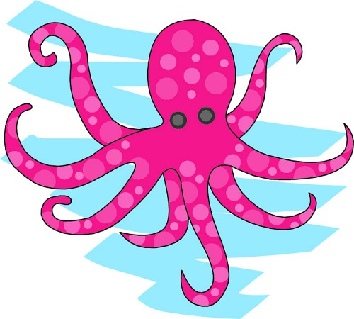 Marine clipart ocean animal #6