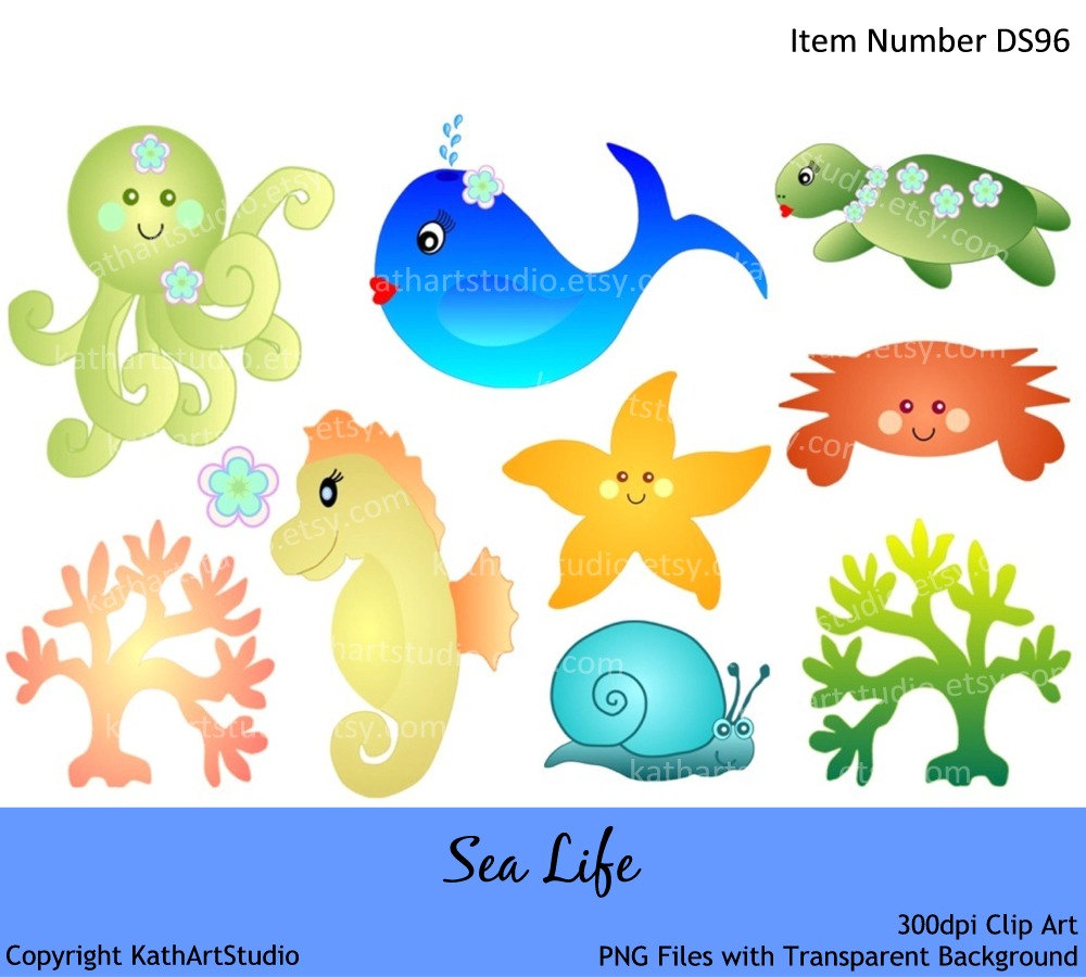 Sea Life clipart baby octopus #11