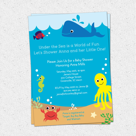 Sea Life clipart baby shower whale #13