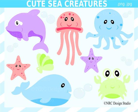 Sea Life clipart jellyfish #11