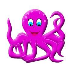 Animl clipart octopus #11