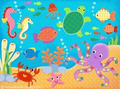 Sea clipart sea world #3