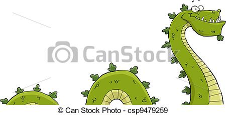 Sea Monster clipart #5
