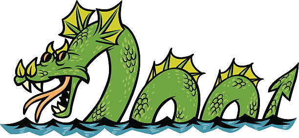 Sea Monster clipart #7
