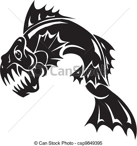 Sea Monster clipart #8