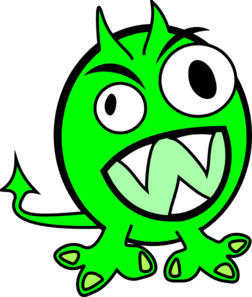 Sea Monster clipart #9
