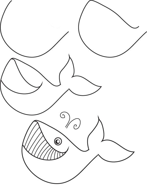 Drawn sea life easy For ideas By Animals Step