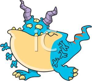 Sea Monster clipart monster arm Blue Free Clipart Monster Images