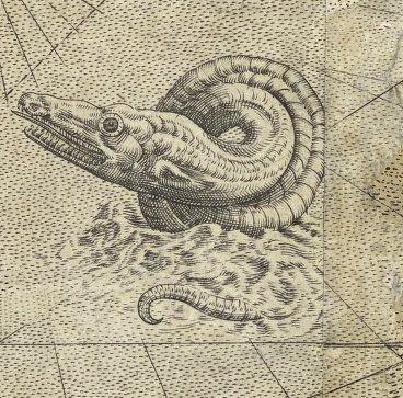 Sea Monster clipart old world Free 26 on MapsSea encyclopedia