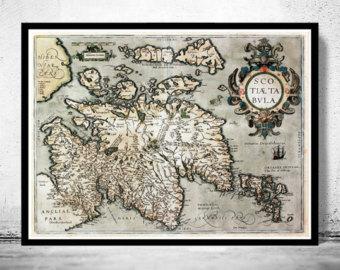 Sea Monster clipart old world Monster Sea Vintage Etsy 1602