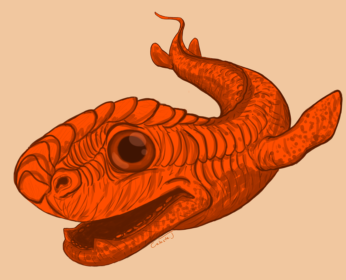 Sea Monster clipart orange Monster Friendly Sea Sea —