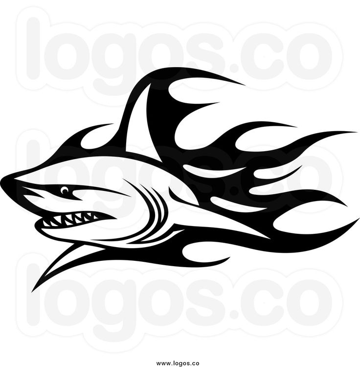 Sea Monster clipart tribal  257 Silhouettes best &
