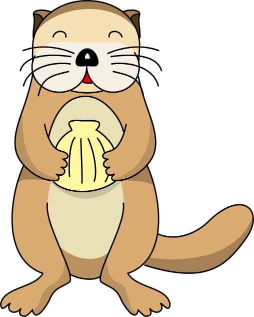 Otter clipart couple Clipart Info otter clipart Sea