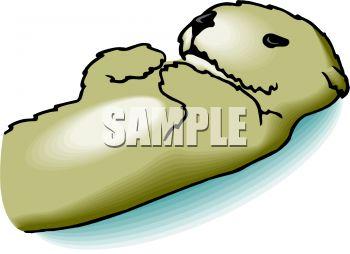Sea Otter clipart cute #8