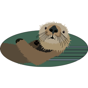 Sea Otter clipart giant #4