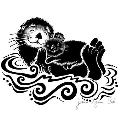 Sea Otter clipart ott #11