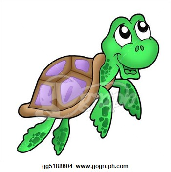 Marine Life clipart turtle swimming Sea Images Clipart Clipart Hawaiian