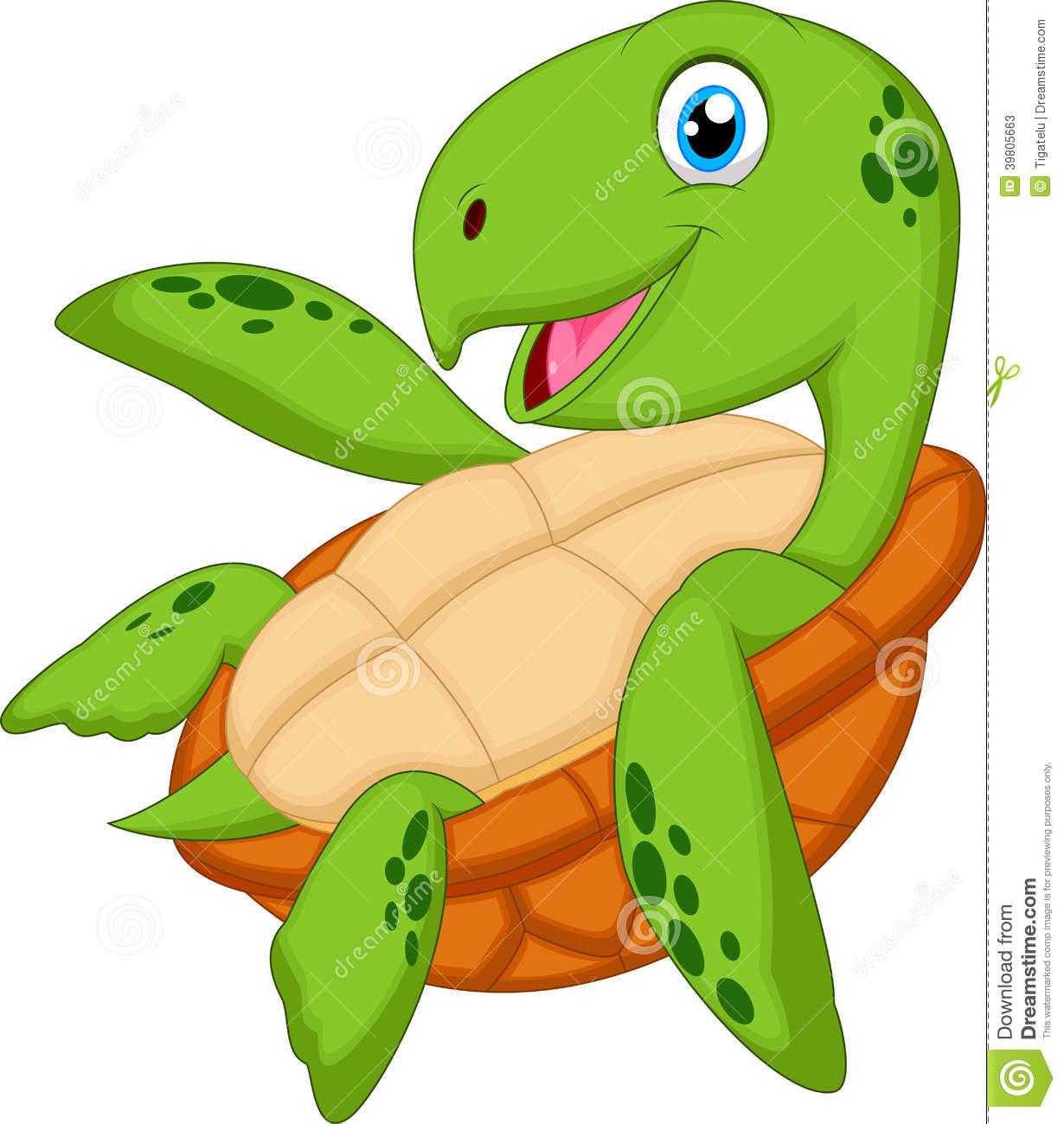 Sea Turtle clipart adorable cartoon #2