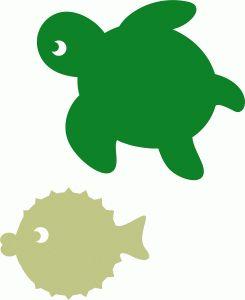 Sea Turtle clipart aquatic #9