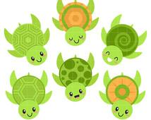 Sea Turtle clipart aquatic #13