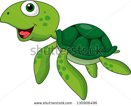 Sea Turtle clipart funny #8