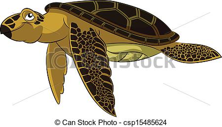 Sea Turtle clipart funny #11