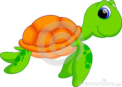 Sea Turtle clipart funny #5