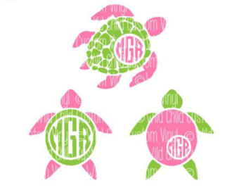 Sea Turtle clipart pink #11