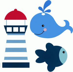 Seafood clipart baby shower whale I best on from in