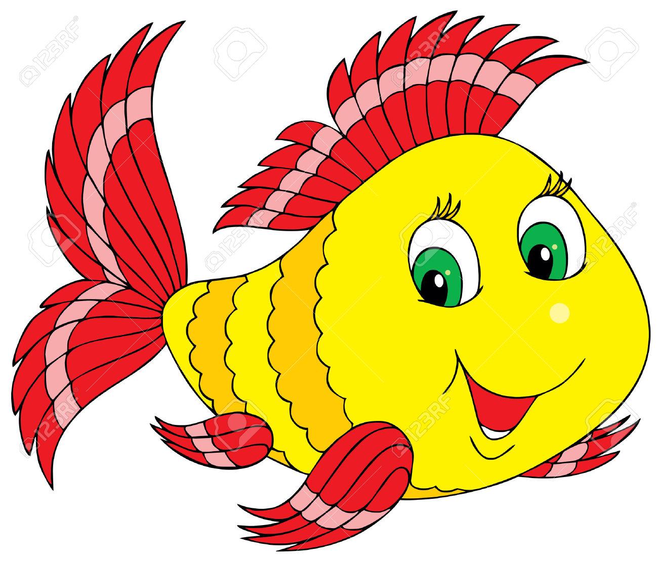 Angelfish clipart beautiful fish Fish art  #2816 Cartoon
