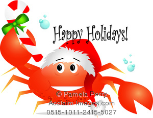 Seafood clipart christmas Photography Acclaim stock clipart &