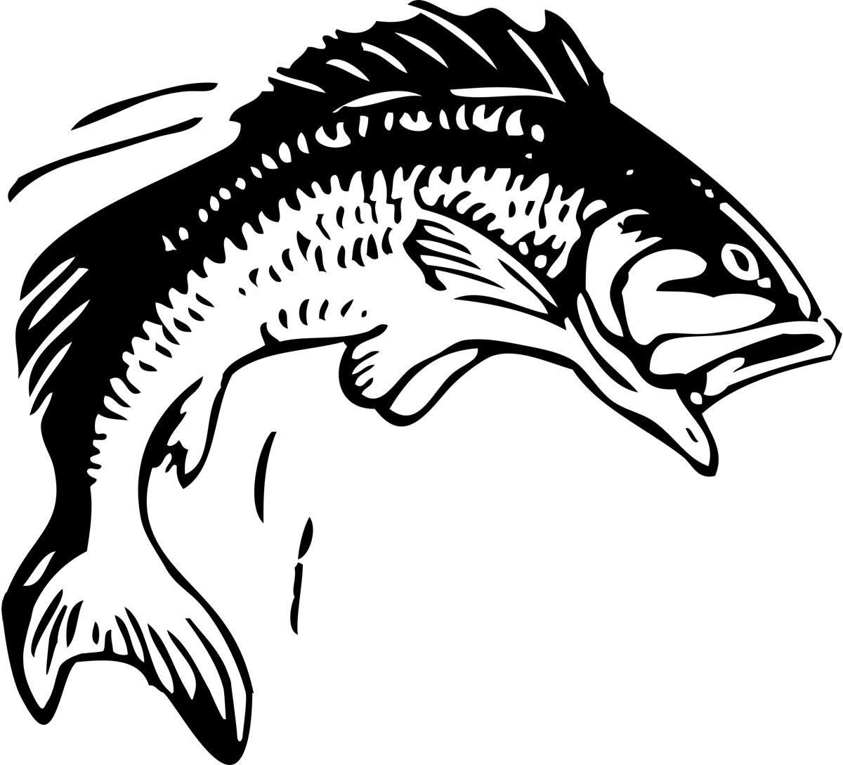 Fisherman clipart bass fishing Pan clipart fish frying image