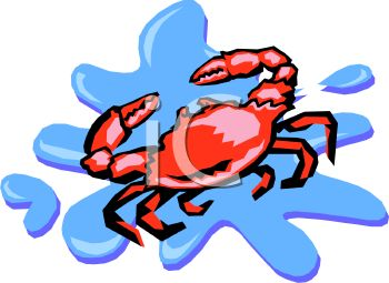 Seafood clipart king crab Starfish on Crabs 185 Lobster