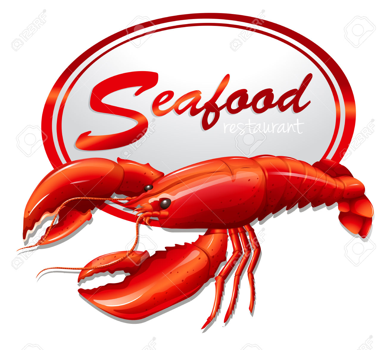 Seafood clipart lobster – Dish Download Lobster Clipart