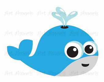 Seafood clipart marine animal Clip Vector Clipart Art Orca